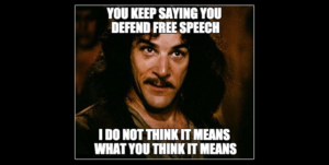 Six facts free speech fundamentalists love to ignore