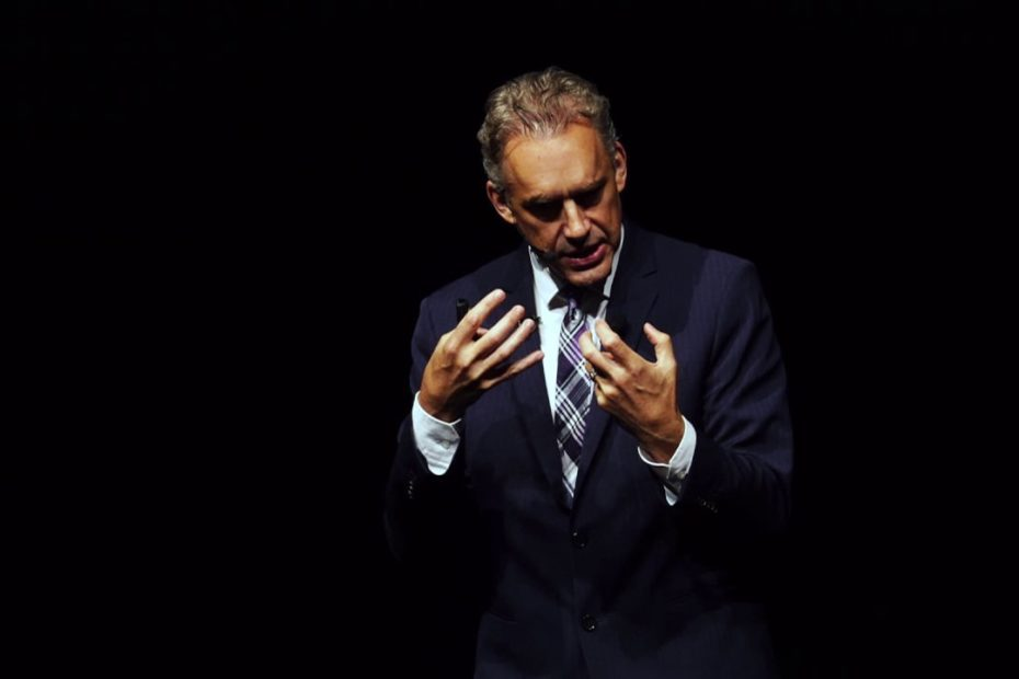 Jordan Peterson giving a lecture