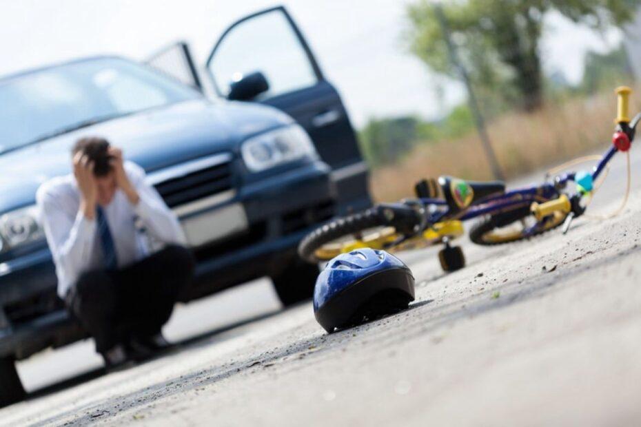 Man worried after having run over a kid.